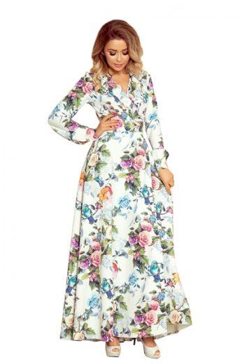 NUMOCO Dámské šaty 245-1 barva vícebarevné, velikost S
