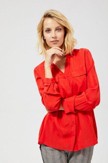 Moodo Košile dámská GLIST s dlouhým rukávem