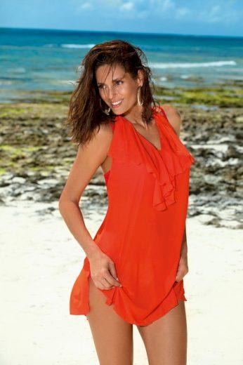 New Design Dámská plážová tunika Erin Gerbera