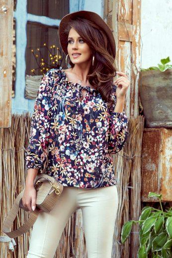Numoco Košile dámská KWETY s dlouhým rukávem