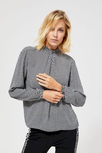 Moodo Košile MOMI dámská s dlouhým rukávem