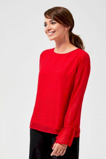 Moodo Košile dámská WEQYX s dlouhým rukávem