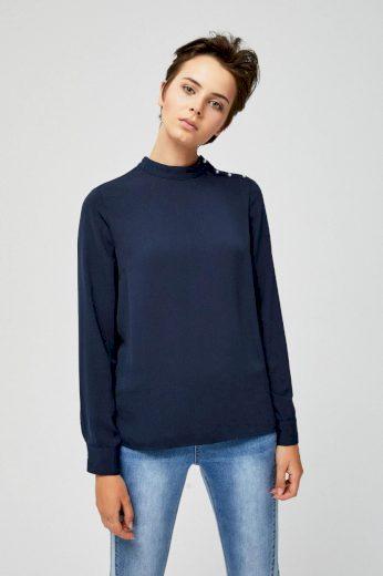 Moodo Košile dámská s dlouhým rukávem