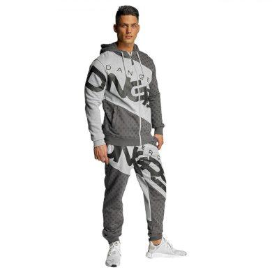 Dangerous DNGRS souprava pánská Toco Suit Grey/Black