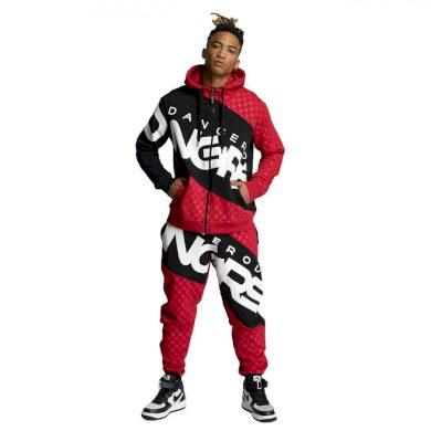 Dangerous DNGRS souprava pánská Toco Suit Red/Black nadměrná velikost