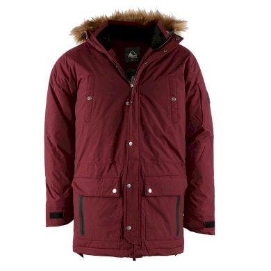 PIROL bunda pánská Gentleman Parka BRIGHT STRIPE FWM17005 zimní