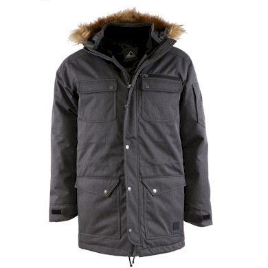 PIROL bunda pánská Gentleman Parka Fourpaok FWM17004 zimní péřová