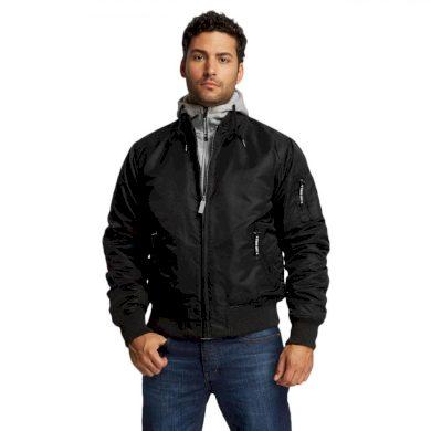 Thug Life bunda pánská Manchester Jacket Black