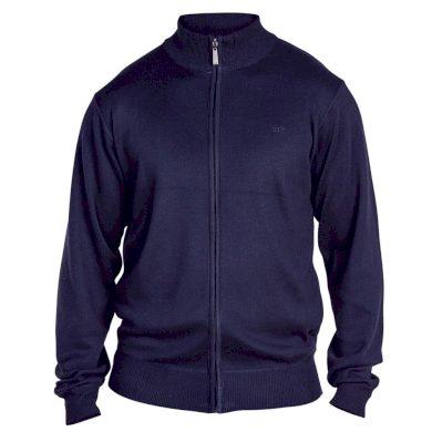 D555 svetr pánský BUDDY 2 na zip nadměrná velikost
