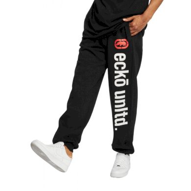 Ecko Unltd. kalhoty pánské Sweat Pant 2Face in black