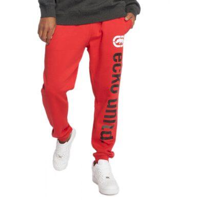 Ecko Unltd. kalhoty pánské Sweat Pant 2Face in red