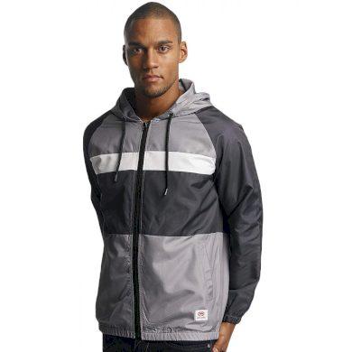 Ecko Unltd. / Lightweight Jacket Windbreaker CapSkirring in grey