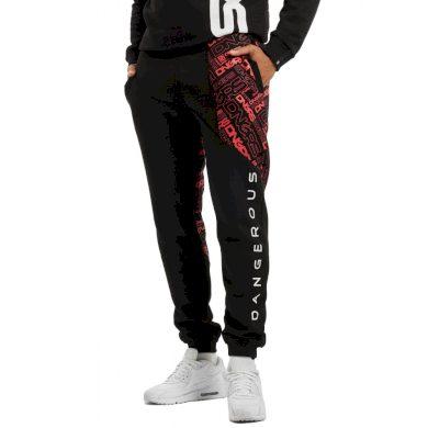 Dangerous DNGRS / Sweat Pant CBrick in black