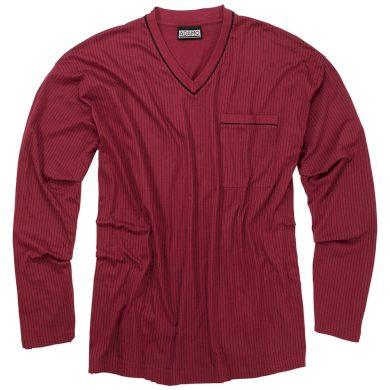 ADAMO pyžamo pánské GUSTAV 590 nadměrná velikost dloudý rukáv
