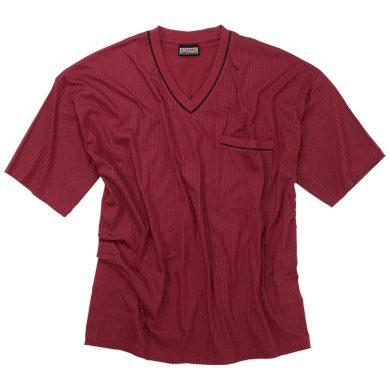 ADAMO pyžamo pánské GUSTAV 590 nadměrná velikost krátký rukáv