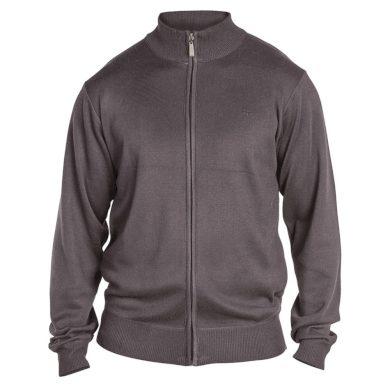 D555 svetr pánský BUDDY 3 na zip nadměrná velikost