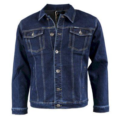 BIGRAY bunda pánská 18 riflová džíska nadměrná velikost