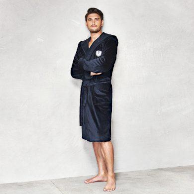 L&L župan pánský MAX s kapucí froté 100% bavlna