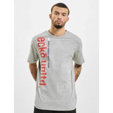 Ecko Unltd. tričko pánské T-Shirt T-Shirt Max in grey