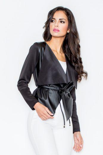 Dámský kabátek Figl M215 černý