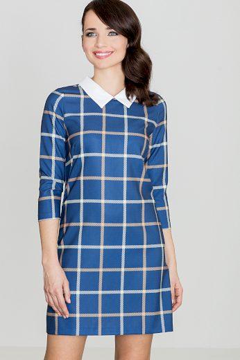 Šaty Lenitif K424 modré