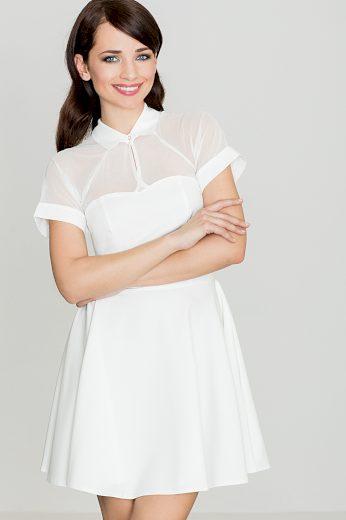 Šaty Lenitif K399 smetanové