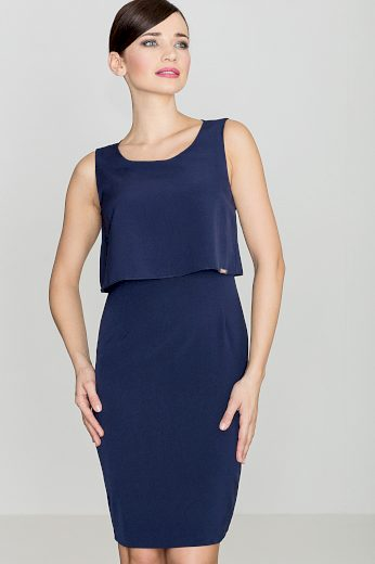 Šaty Lenitif K388 modré