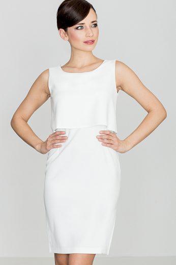 Šaty Lenitif K388 smetanové
