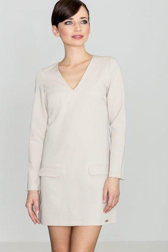 Šaty Lenitif K373 béžové