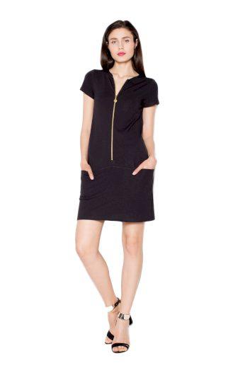 Šaty Venaton VT063 černé