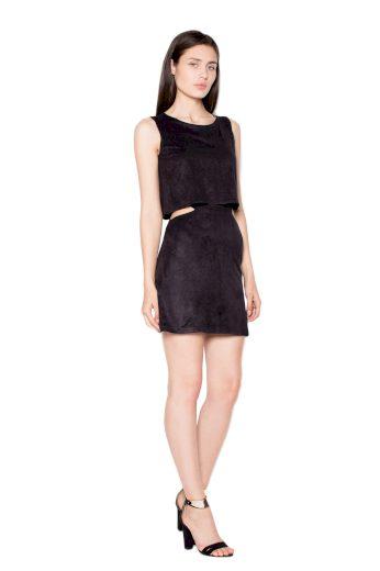 Šaty Venaton VT061 černé