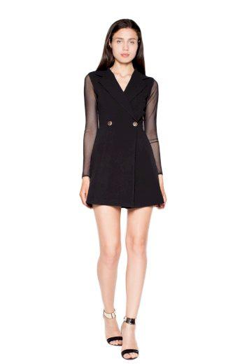 Šaty Venaton VT060 černé