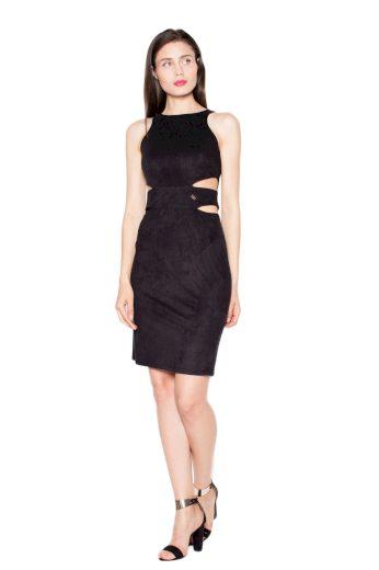 Šaty Venaton VT058 černé
