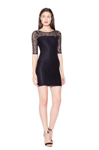 Šaty Venaton VT057 černé