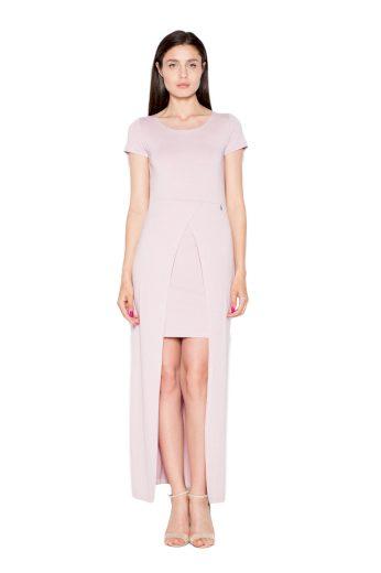 Šaty Venaton VT056 růžové