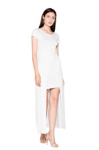 Šaty Venaton VT056 smetanové