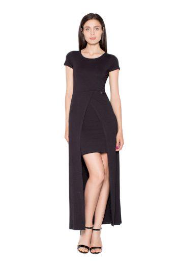 Šaty Venaton VT056 černé