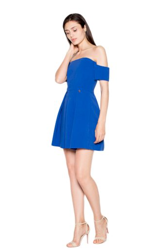 Šaty Venaton VT055 modré