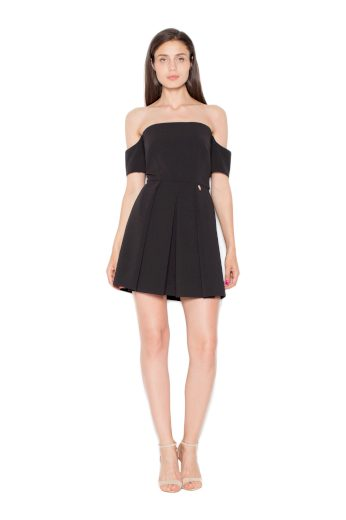 Šaty Venaton VT055 černé