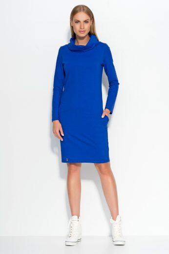 Dámské šaty Makadamia M331 modré