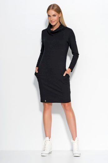 Dámské šaty Makadamia M331 černé