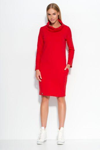 Dámské šaty Makadamia M331 červené