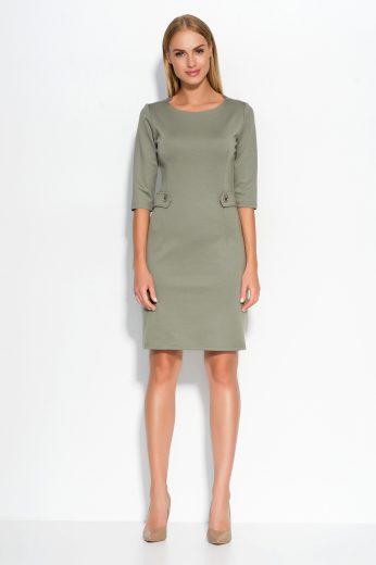 Dámské šaty Makadamia M325 olivové