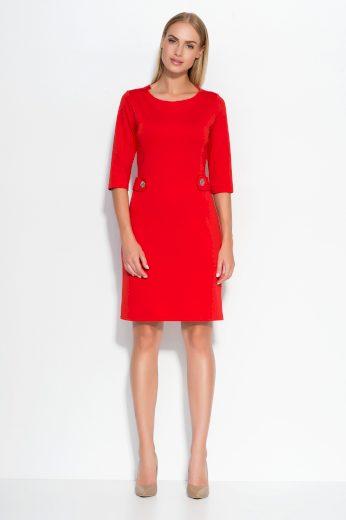 Dámské šaty Makadamia M325 červené
