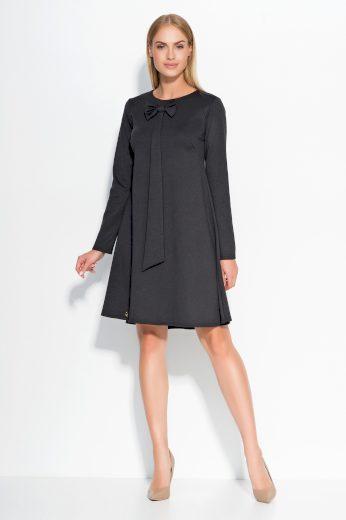 Dámské šaty Makadamia M320 černé