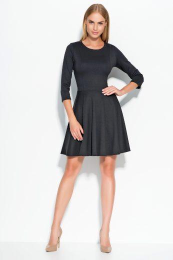Dámské šaty Makadamia M319 černé