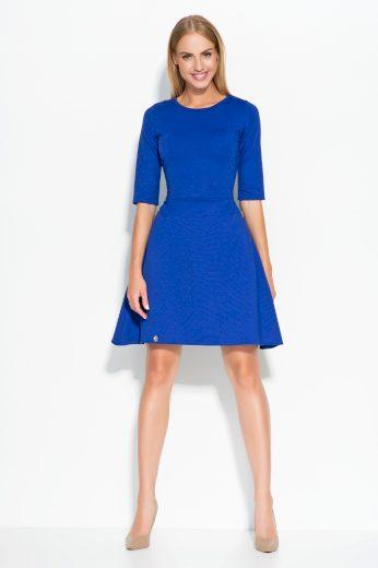 Dámské šaty Makadamia M316 modré