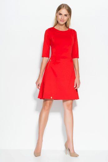 Dámské šaty Makadamia M316 červené