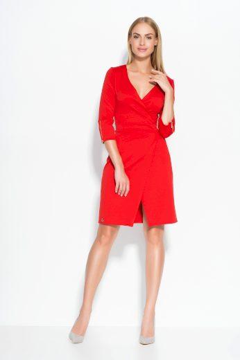 Dámské šaty Makadamia M315 červené