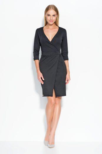 Dámské šaty Makadamia M315 černé